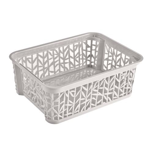 "BRANQ krepšys ""Bamboo"", 29x22 cm. (White)"