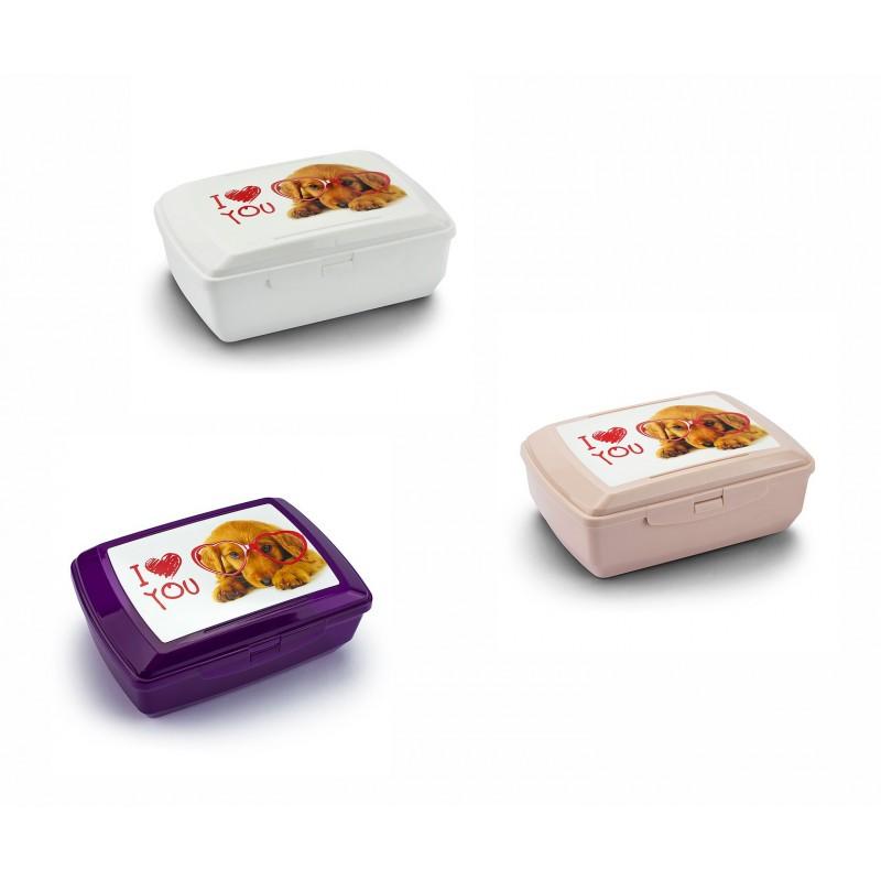 "BRANQ priešpiečių dėžutė su šaldymo elementu ""I love You"" 1,3l"