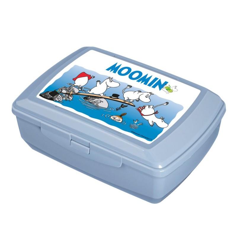 """BRANQ priešpiečių dėžutė MOOMIN """"Swimming"""", 1,3l"""