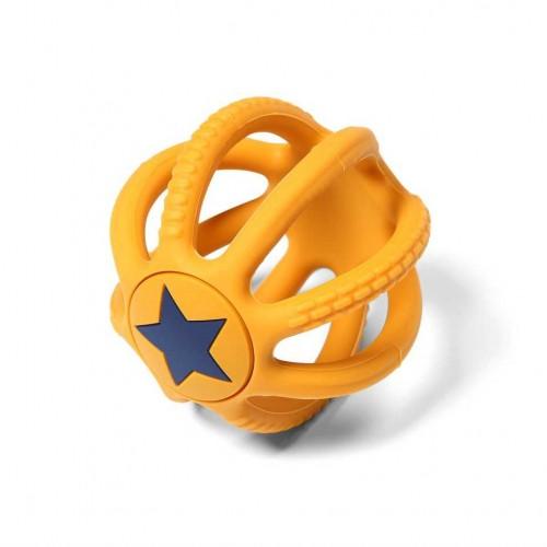 """BABYONO kramtukas ORTHO """"Žvaigždutės"""" (oranžinis)"""