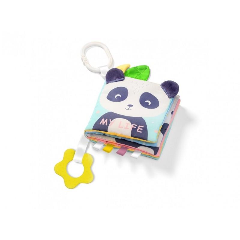 """BABYONO lavinamoji knygelė """"My Life"""" (Panda)"""