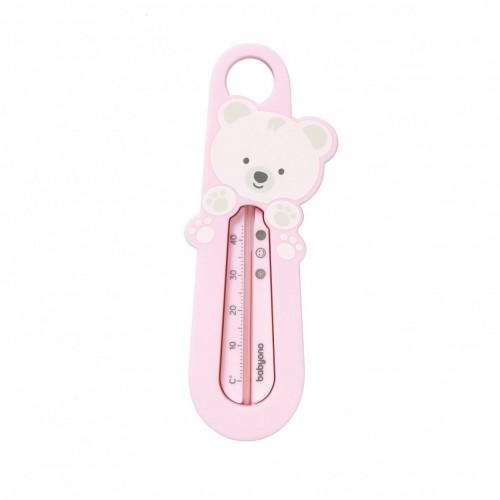 """BABYONO vandens termometras """"Meškutis"""" (rožinis)"""