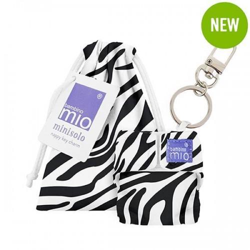 """BAMBINO MIO raktų pakabukas MINISOLO """"Savanna Stripes"""""""