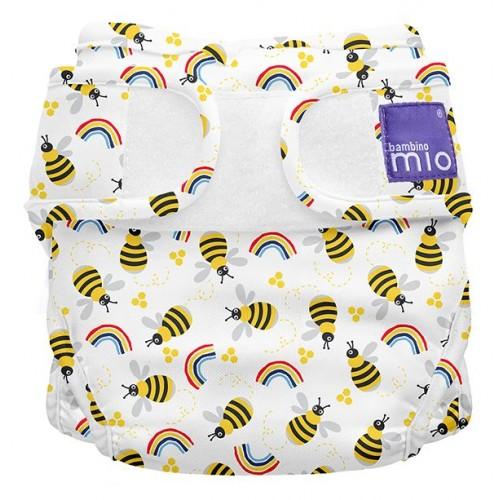 """BAMBINO MIO daugkartinės prilaikančios kelnaitės """"Miosoft Honeybee Hive"""""""