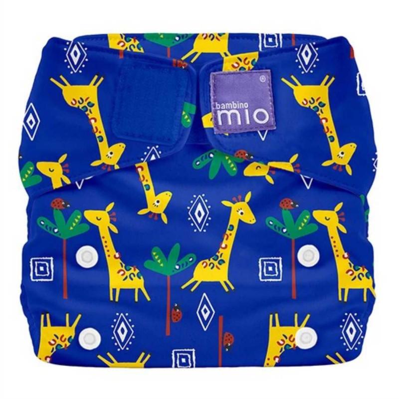 """BAMBINO MIO daugkartinės sauskelnės ALL IN ONE """"Giraffe Jamboree"""""""