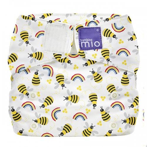 """BAMBINO MIO daugkartinės sauskelnės ALL IN ONE """"Honeybee Hive"""""""