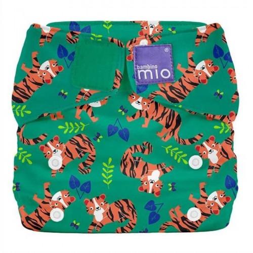 """BAMBINO MIO daugkartinės sauskelnės ALL IN ONE """"Tiger Tango"""""""