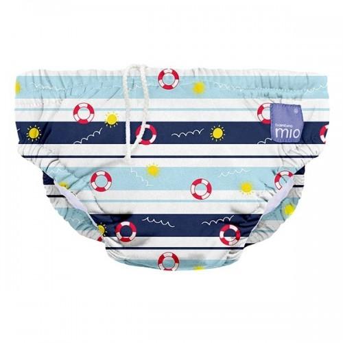"""BAMBINO MIO daugkartinės maudymosi kelnaitės kūdikiams """"All Aboard"""""""