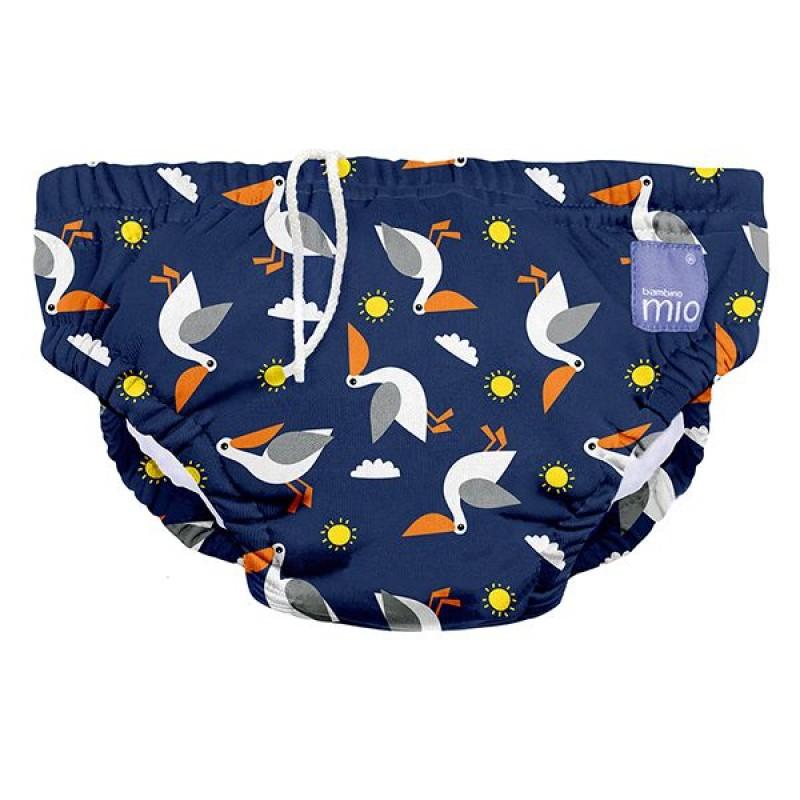 """BAMBINO MIO daugkartinės maudymosi kelnaitės kūdikiams """"Pelican Pier"""""""