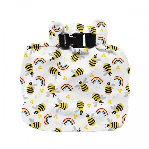 """BAMBINO MIO drėgnų sauskelnių maišelis """"Honeybee Hive"""""""