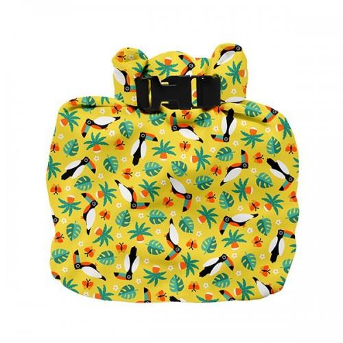 """BAMBINO MIO drėgnų sauskelnių maišelis """"Tropical Toucan"""""""