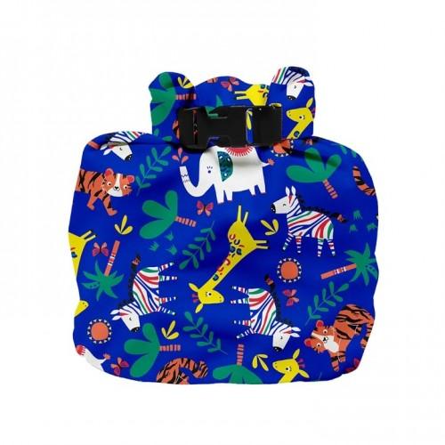 """BAMBINO MIO drėgnų sauskelnių maišelis """"Sfarai Celebration Blue"""""""