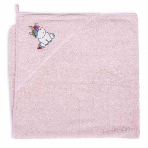 "CEBABABY rankšluostis su gobtuvu ""Vienaragis"", 100x100 cm."