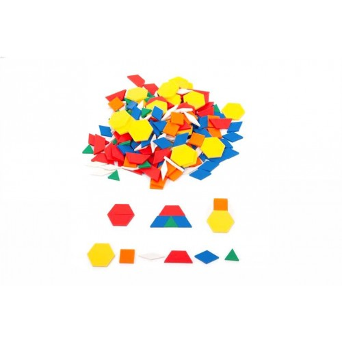 EDX geometrinės figūros, 250 vnt.