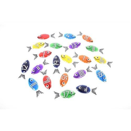 TICKIT gelinės žuvytės - skaičiai, 21 vnt.