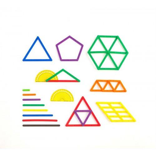 EDX geometrinių lazdelių rinkinys