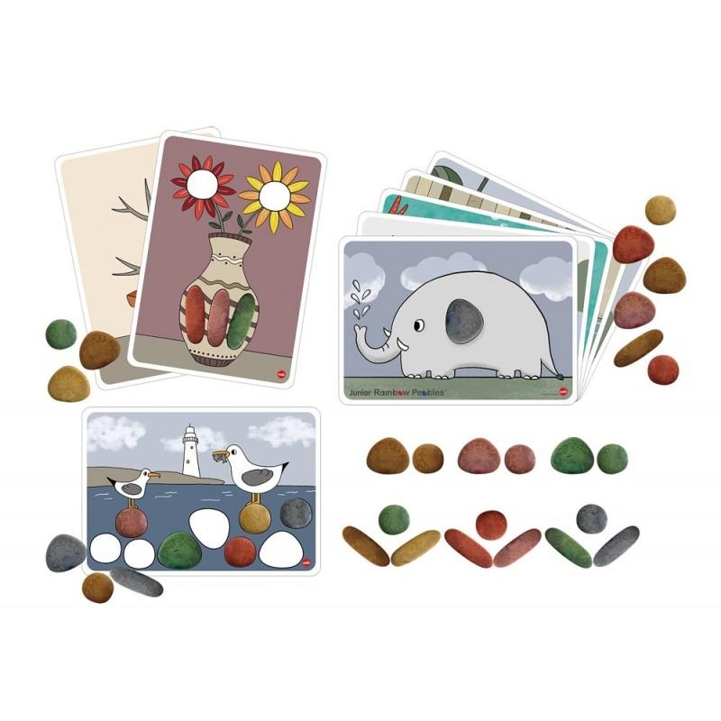 EDX ekologiškų akmenėlių kūrybinis rinkinys