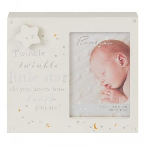 "BAMBINO by Juliana MDF muzikinis nuotraukos rėmelis ""Twinkle Twinkle"""