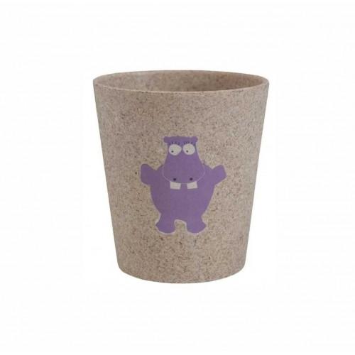 "JACK N' JILL ekologiškas puodelis ""Hippo"""