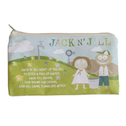 JACK N' JILL kelioninis krepšelis iš natūralios medvilnės