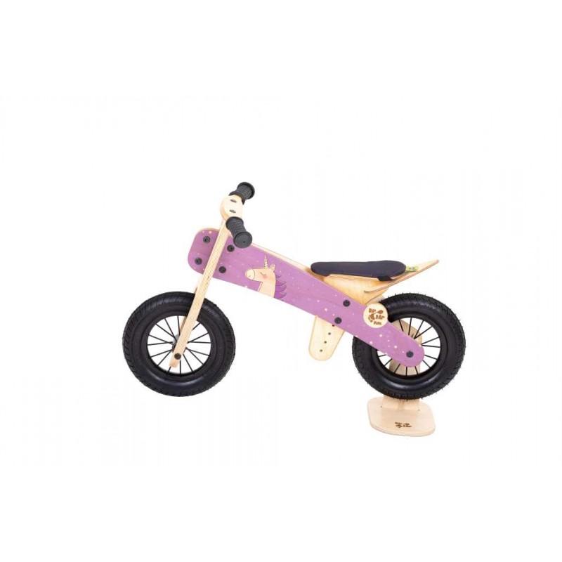 """DIP DAP 2+ m. medinis balansinis dviratukas """"Unicorn"""""""