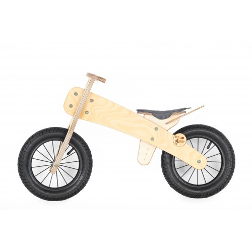 """DIP DAP 3+ m. medinis balansinis dviratukas """"Pilka sėdynė"""""""
