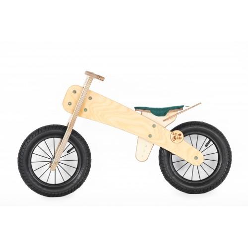 """DIP DAP 3+ m. medinis balansinis dviratukas """"Žalia sėdynė"""""""