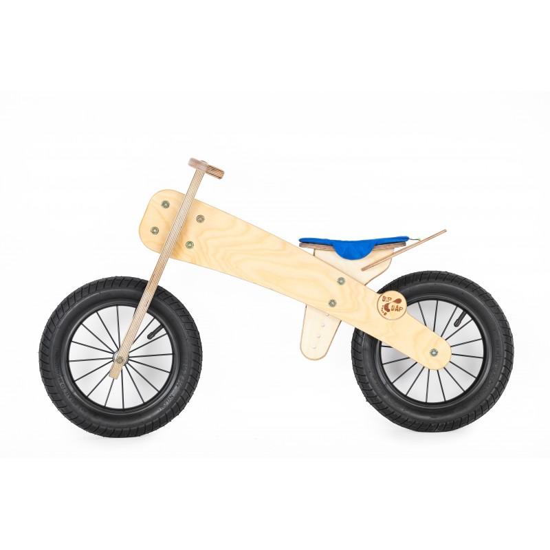 """DIP DAP 2+ m. medinis balansinis dviratukas """"Mėlyna sėdynė"""""""