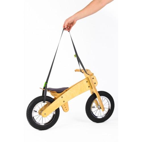 DIP DAP balansinio dviratuko nešiojimo diržas