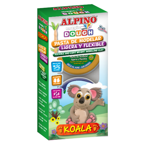 "ALPINO modelinas ""Magic Dough Koala"""