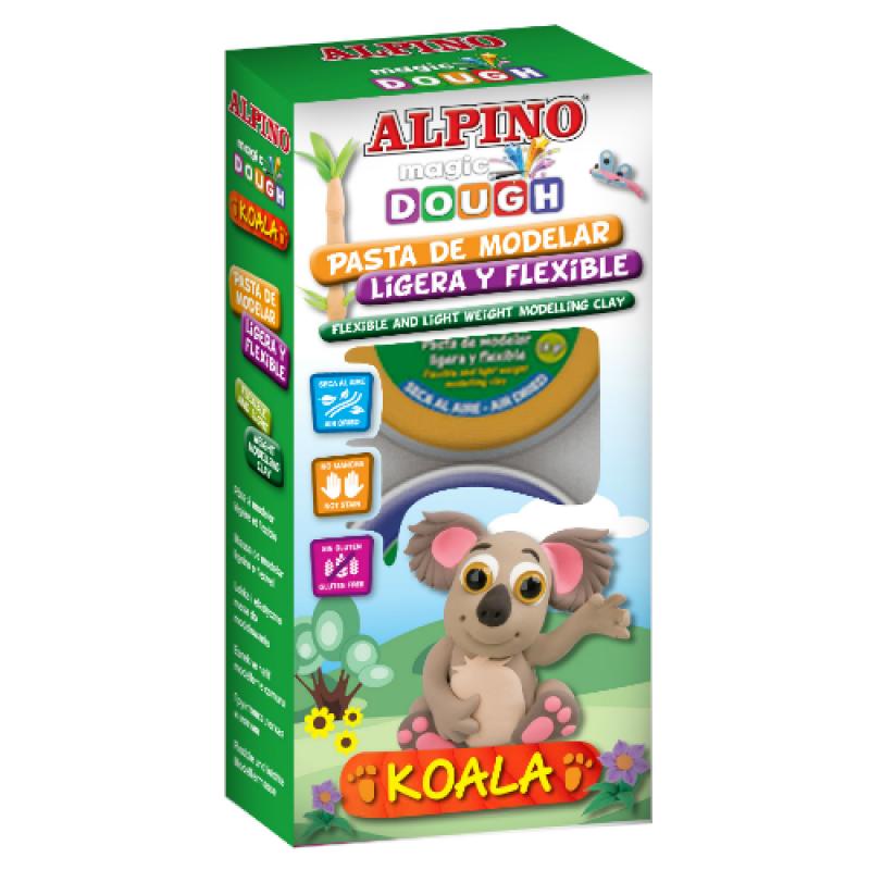 "ALPINO modelinas ""Magic Dough Koala"""