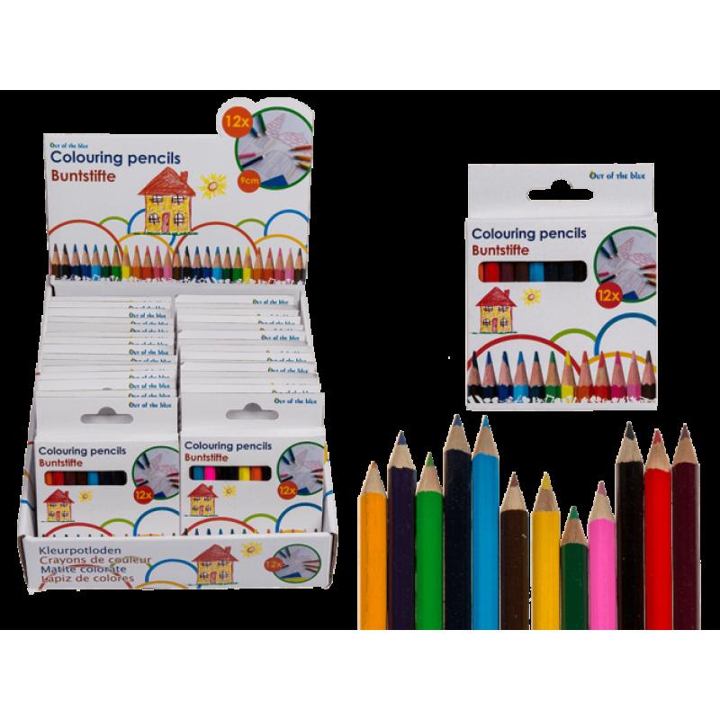 OOTB spalvoti mini pieštukai 12 spalvų