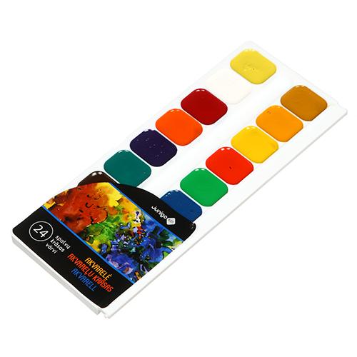 JUNIGO akvarelė, 24 spalvos