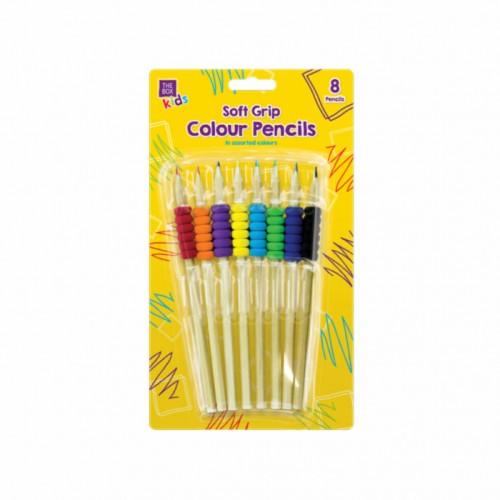OOTB spalvotų pieštukų rinkinys, 8 vnt.