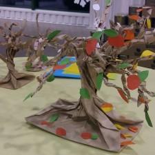 Medis iš sumuštinių maišelio