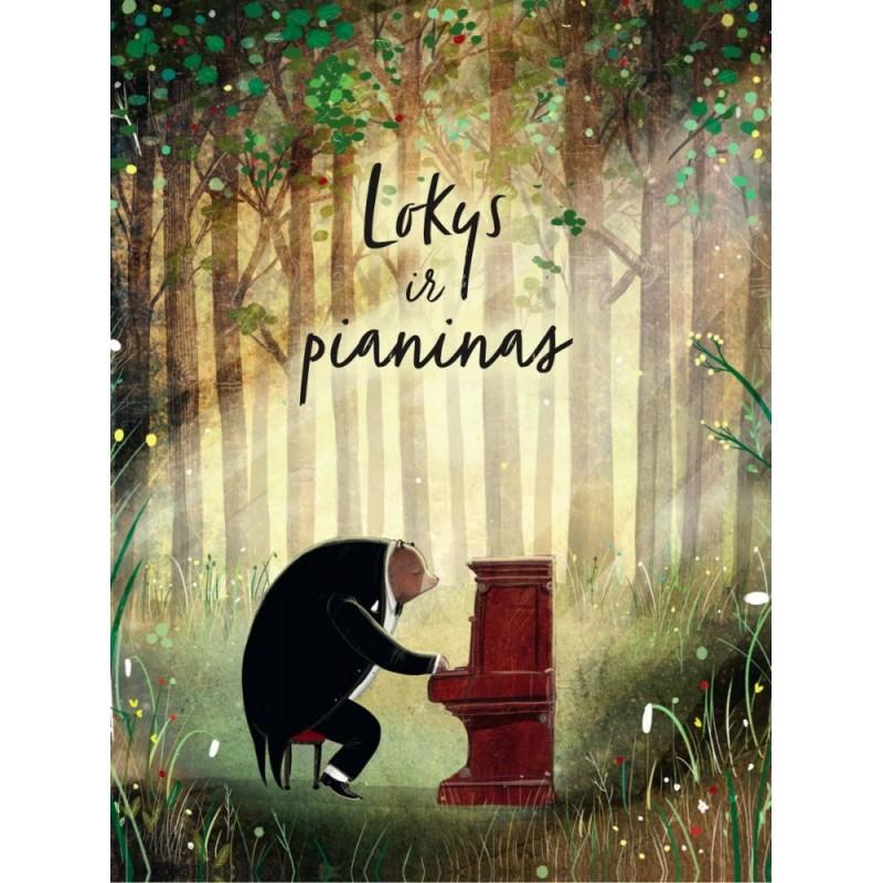 """DAVID LITCHFIELD """"Lokys ir pianinas"""""""