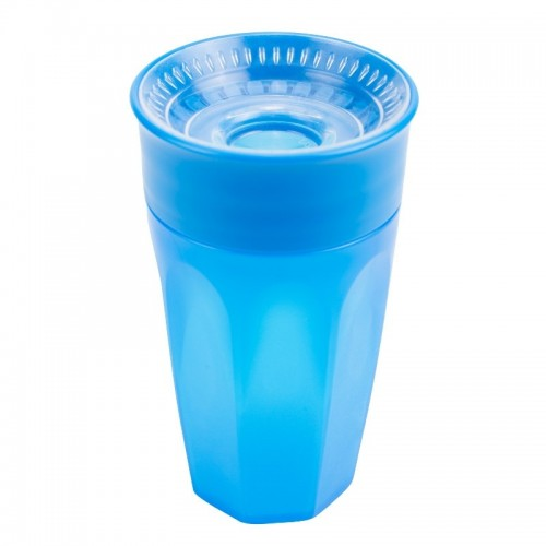 "DR. BROWN`S 300 ml gertuvė ""CHEERS 360"", 12+ mėn., mėlyna"
