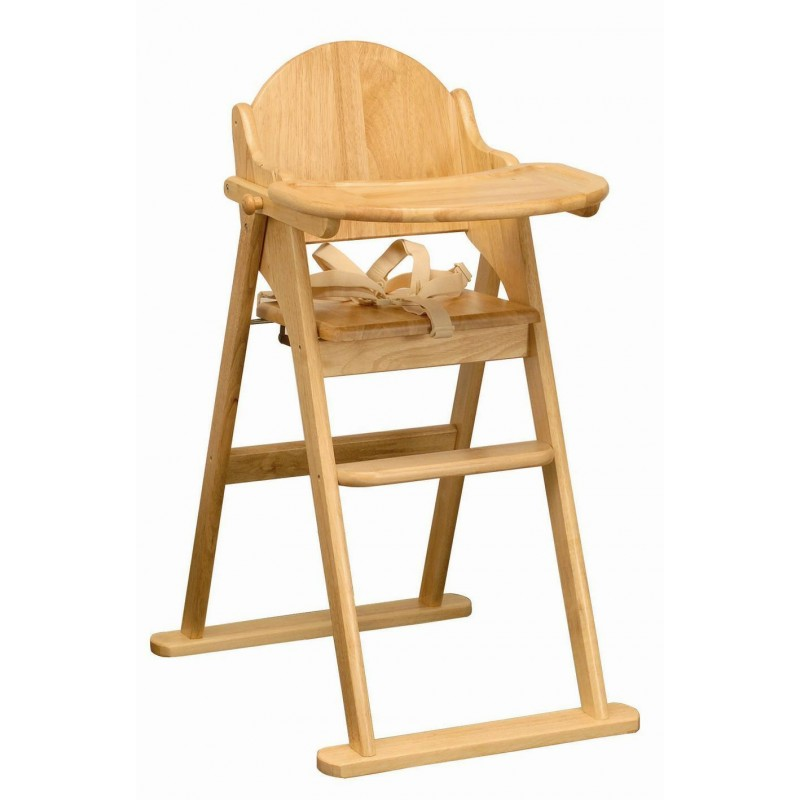 EAST COAST sulankstoma medinė maitinimo kėdutė