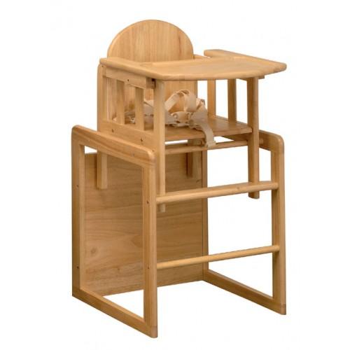 EAST COAST kombinuota medinė maitinimo kėdutė