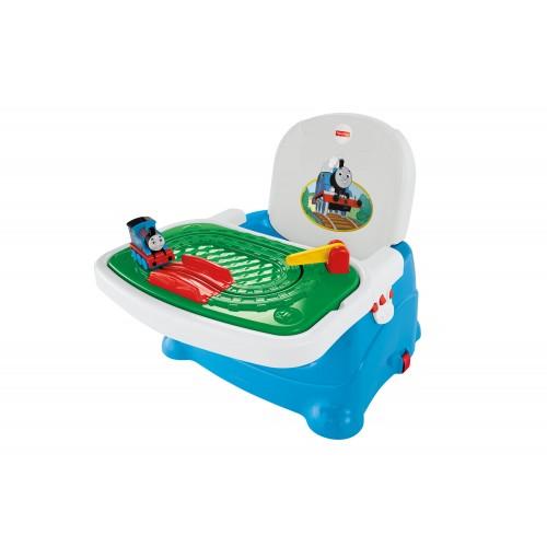"""FISHER PRICE """"Thomas and Friends"""" maitinimo kėdutė su žaidimų padėklu"""