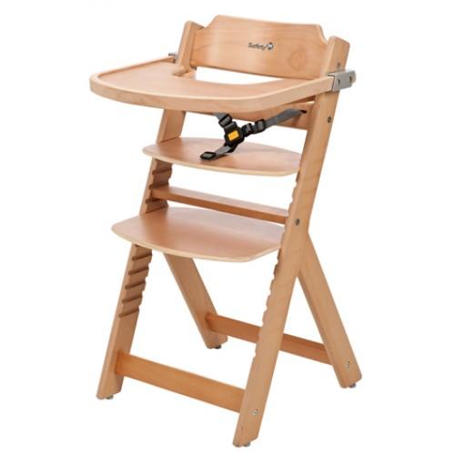 """SAFETY 1st """"Timba"""" medinė maitinimo kėdutė (ruda)"""