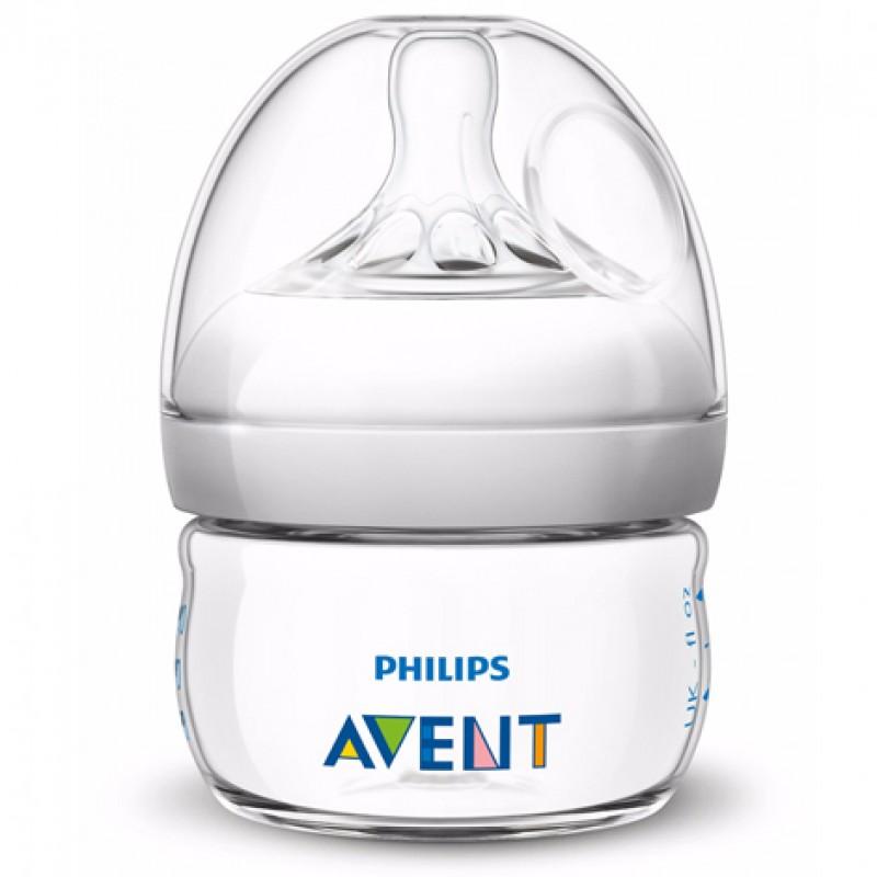 "AVENT 60 ml. ""Natural"" buteliukas 1 vnt."