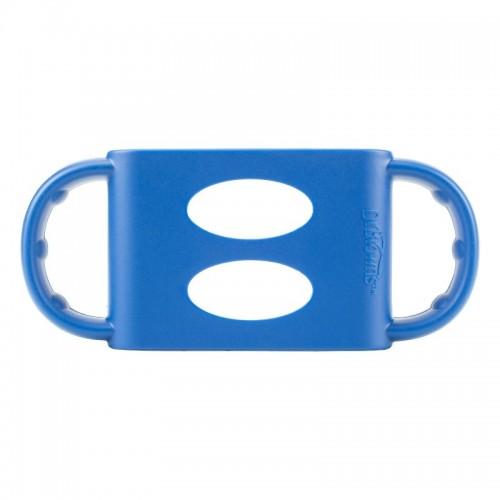 DR. BROWN`S silikoninė rankenėlė plataus kaklelio buteliukams, mėlyna