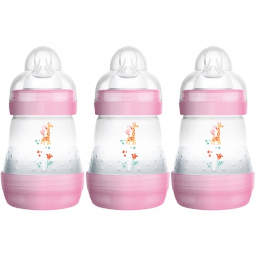"""MAM 160 ml """"Anti-Colic"""" buteliukas 1 vnt. (rožinis)"""