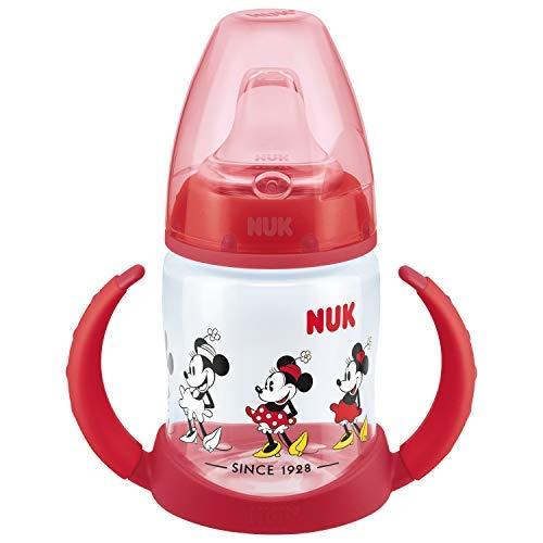 """NUK 150 ml """"First Choice"""" mokomasis buteliukas silikoniniu žinduku """"Red"""""""