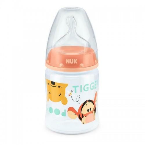 """NUK 150 ml buteliukas silikoniniu žinduku """"Winnie the Pooh"""""""