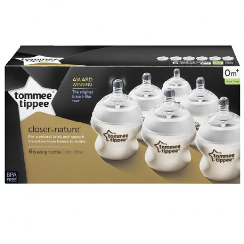 "TOMMEE TIPPEE 150 ml. ""Easy-vent"" buteliukas 1 vnt."