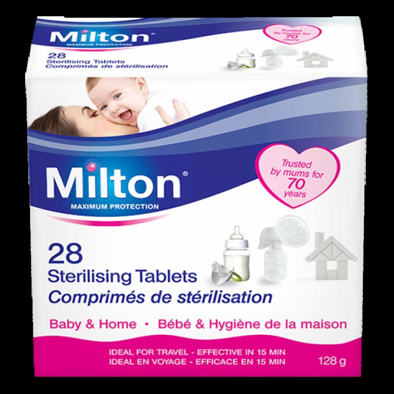 MILTON standartinės sterilizavimo tabletės (28 vnt.)