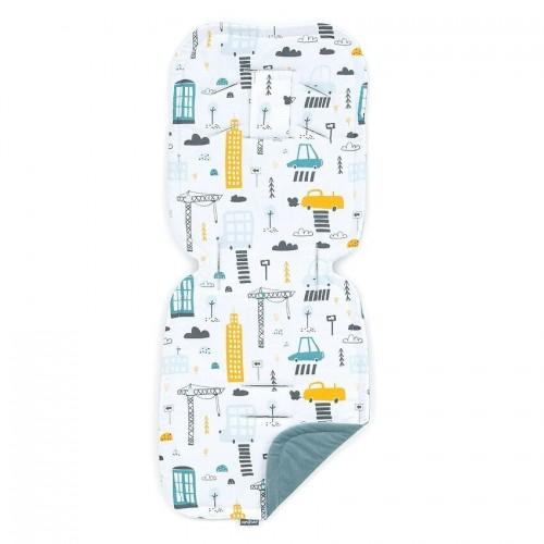 """MAMO TATO įdėklas vežimėliui """"Miestas"""", 32x82 cm."""