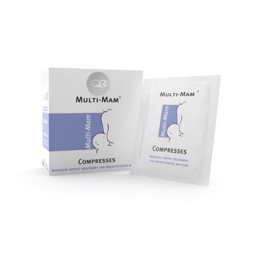 "MULTI-MAM spenelių kompresai ""Compresses N12x1.6ml."""